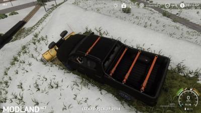 Pickup 2014 snow plow v 1.0, 9 photo