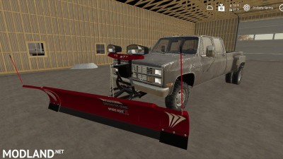 Plow Mount for trucks (with tutorial) v 1.0, 1 photo