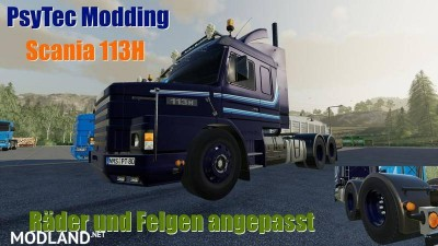 Scania 113H Tuning Fahrwerk v 0.1.5.2, 1 photo