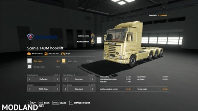 Scania 143M hooklift v 1.0, 2 photo