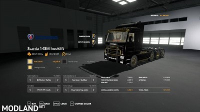 Scania 143M hooklift v 1.0, 3 photo