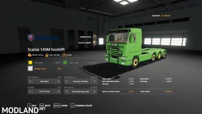 Scania 143M hooklift v 1.0, 4 photo