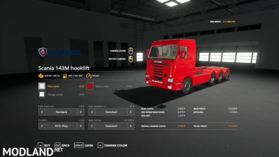 Scania 143M hooklift v 1.0, 1 photo