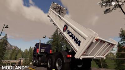 Scania 8x4 Tipper