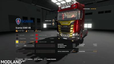Scania S580 Scratchy Edition v 0.9, 3 photo