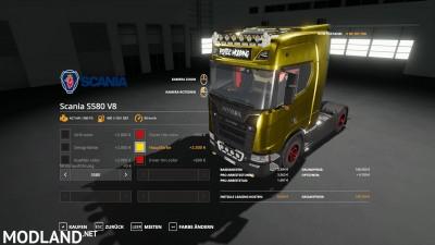 Scania S580 Scratchy Edition v 0.9, 4 photo