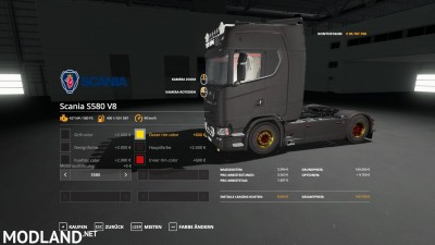 Scania S580 Scratchy Edition v 0.9, 5 photo