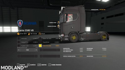 Scania S580 Scratchy Edition v 0.9, 6 photo