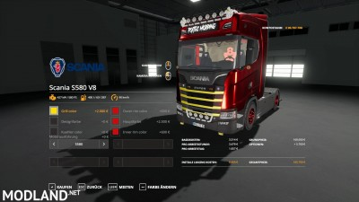 Scania S580 Scratchy Edition v 0.9, 1 photo