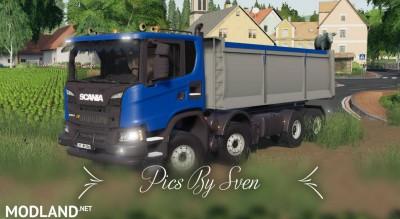 Scania XT 8x8 Kipper v 1.0