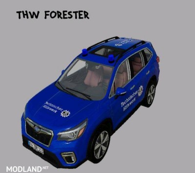 Subaru Forester 2019 THW v 1.0, 1 photo