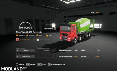 TGS 44.400 Concrete v 1.0, 1 photo