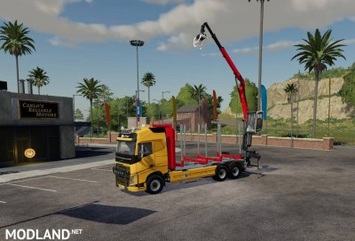 Volvo FH16 750 wood v1.7, 2 photo