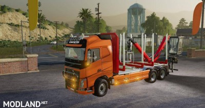 Volvo FH16 750 wood v1.7, 3 photo