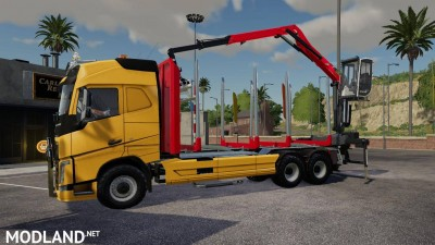 Volvo FH16 750 wood v1.7
