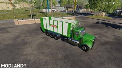 Western Star 4900 daycab Hooklift v 1.0, 2 photo