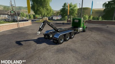 Western Star 4900 daycab Hooklift v 1.0, 3 photo