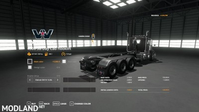 Western Star 4900 daycab Hooklift v 1.0, 5 photo