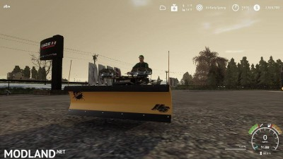 Yamaha Grizzly snow plow 1.0, 9 photo