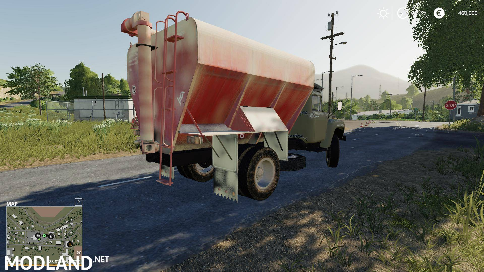 Zil 130 ZSK Truck v 1.1.1 Zil World Map on