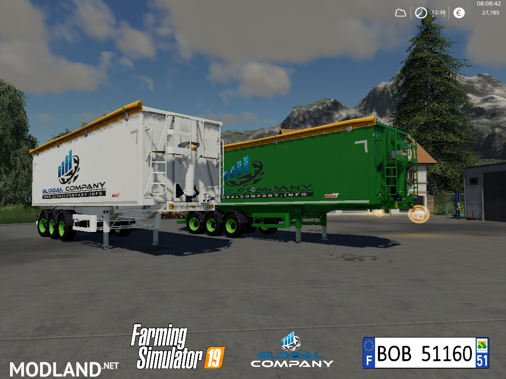 FS 19 Benalu Global Company Tipper By BOB51160