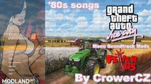 FS19 - GTA Vice City Music Soundtrack in menu