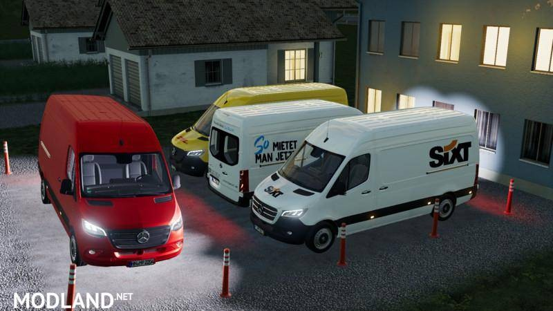 Mercedes Benz Sprinter Mk4