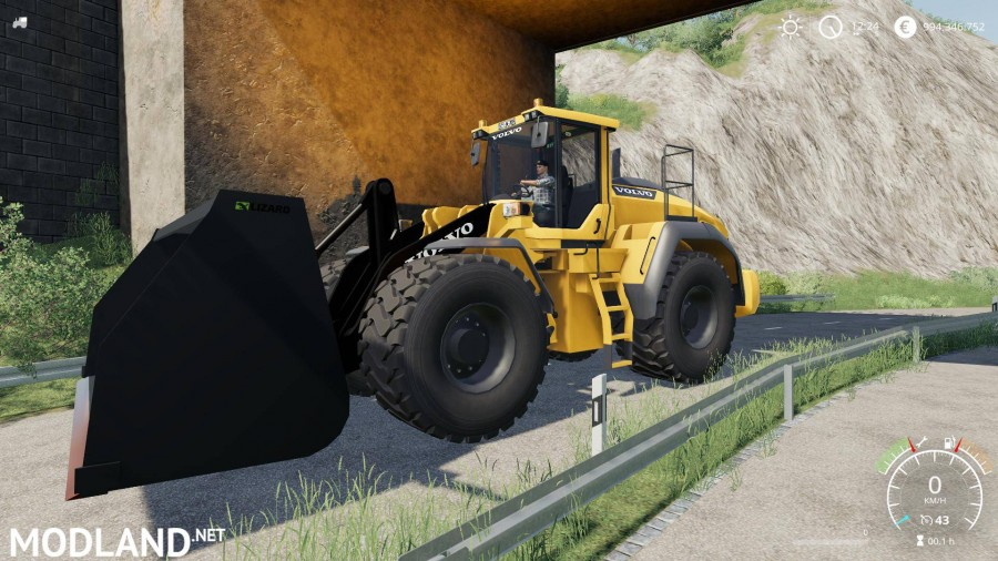 Volvo L220h without Shovel, better