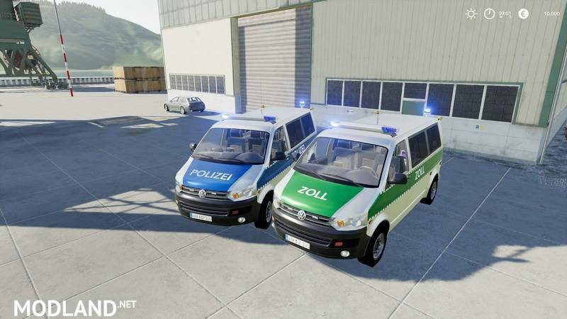 VW T5 police and customs