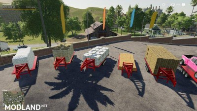 2014 Pickup with semi-trailer and autoload v 1.2, 3 photo