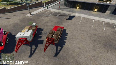 2014 Pickup with semi-trailer and autoload v 1.8, 6 photo