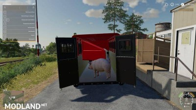 2014 Pickup with semi-trailer and autoload v 1.8, 7 photo