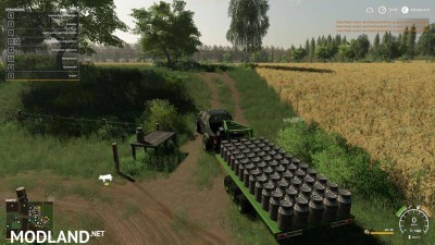 2014 Pickup with semi-trailer and autoload v 1.8, 9 photo
