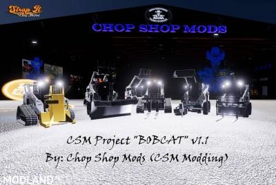 CSM Bobcat 590 Series Skid Steer Pack v 1.1, 1 photo