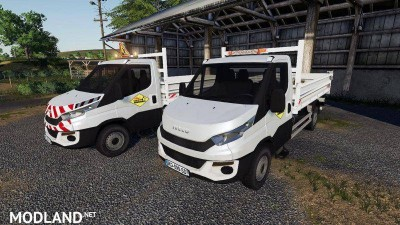 IVECO DAILY Benne SDM v 1.0, 1 photo