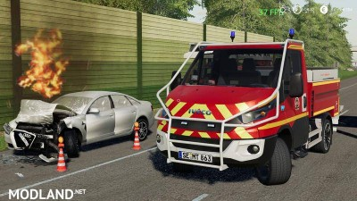 Iveco Daily (Feuerwehr Kaltenkirchen) v 1.0 - Direct Download image