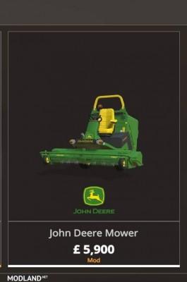 John Deere Mower v 1.0, 5 photo