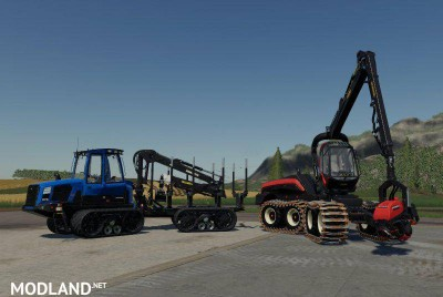 Real Forestry Machinery v 0.4, 1 photo
