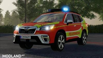 Subaru Forester Fire Brigade KdoW Skin v 1.1