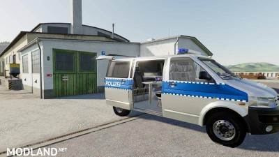 VW T5 police and customs v 1.0, 3 photo