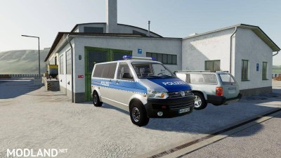 VW T5 police and customs v 1.0, 4 photo