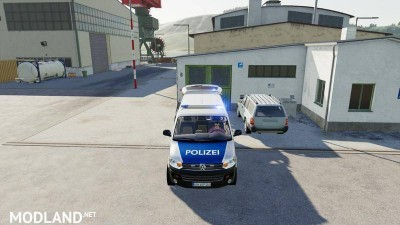 VW T5 police and customs v 1.0, 5 photo