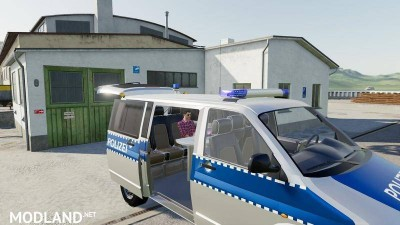 VW T5 police and customs v 1.0, 6 photo