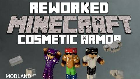 Cosmetic Armor Reworked Mod 1.12.1/1.11.2