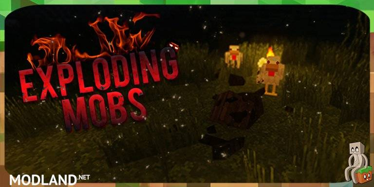 Exploding Mobs [1.12.2]