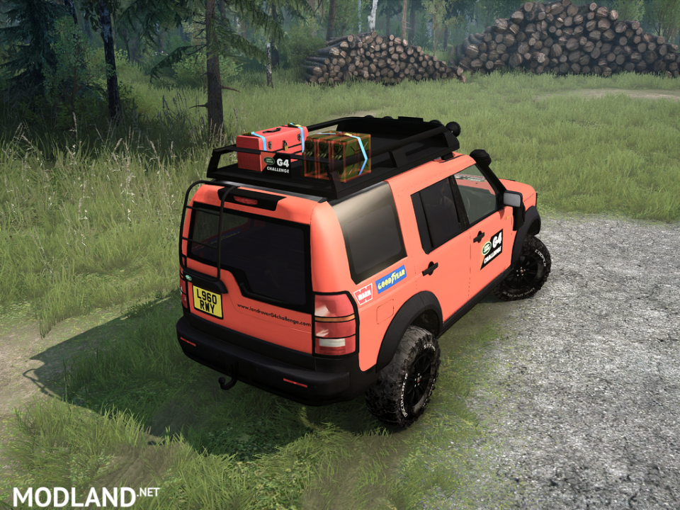 Land Rover Discovery 3 / G4 v12.11.17 for