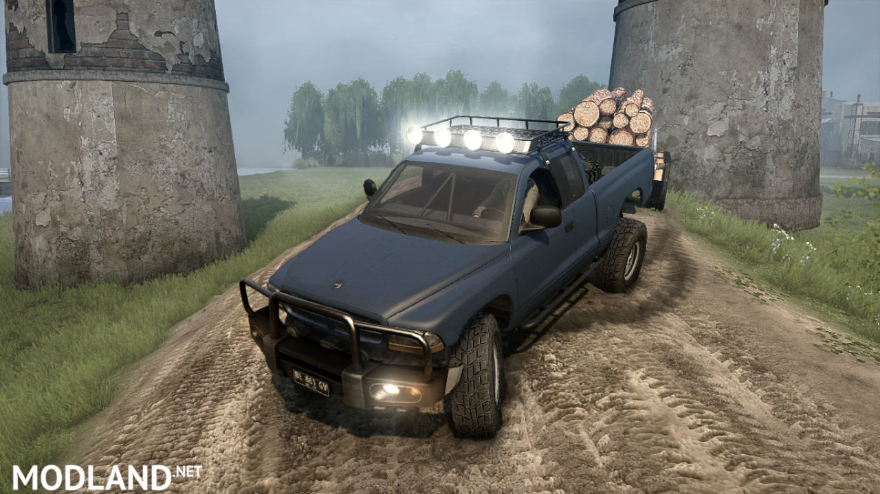 Dodge Dakota Remasteres BullMods v 08.02.18 for Spintires: MudRunner (v11.12.17)