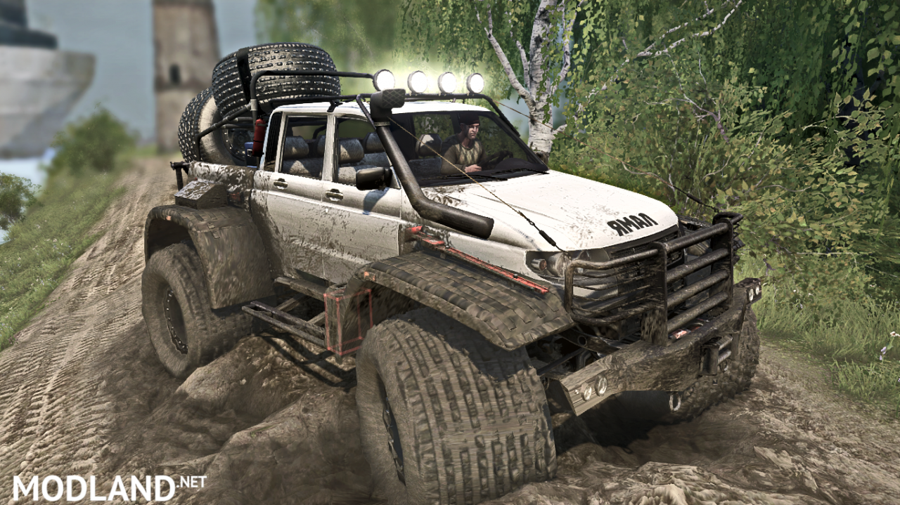 Yamal off-road vehicle v 1.0 for (v29.01.18)