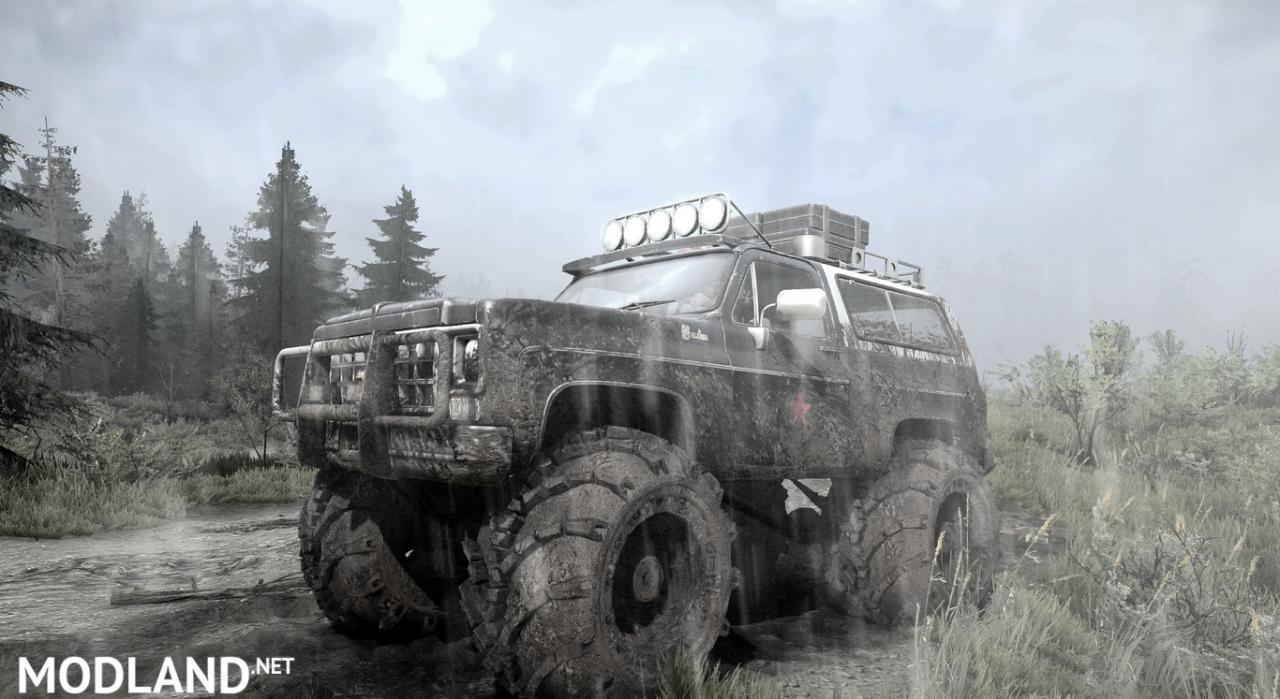Chevrolet K5 monster