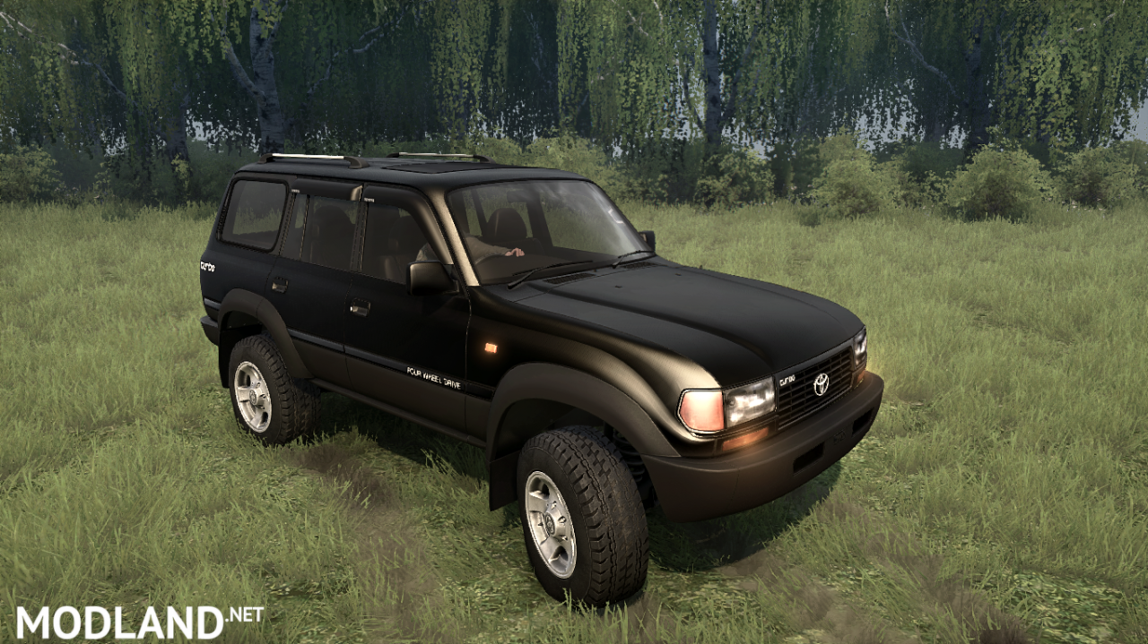 Toyota Land Cruiser 80 VX BullMods v 08.02.18 for Spintires: MudRunner (v11.12.17)